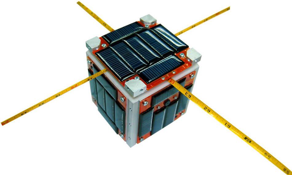 Nanosatelite cubeSAT proyecto bautizado como AzTechSat1