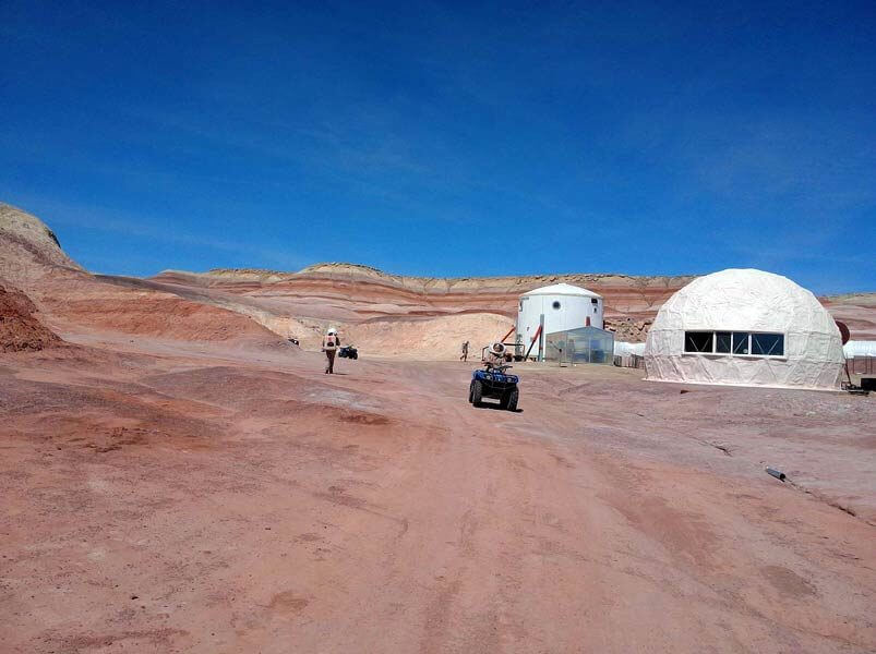Clúster aeroespacial The Mars Desert Research Station