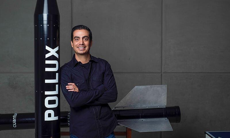 Cohete JFCR.2000.Pollux