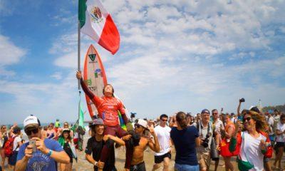 Mexicano Jhony Corzo es campeón mundial en surf