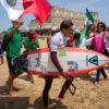 Jhony Corzo ganador de semifinales de ISA World Surfing Games