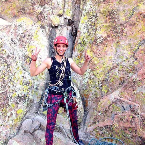 Montañista mexicana, Mariana Torres