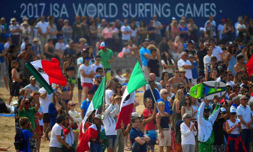 México en ISA World Surfing Games