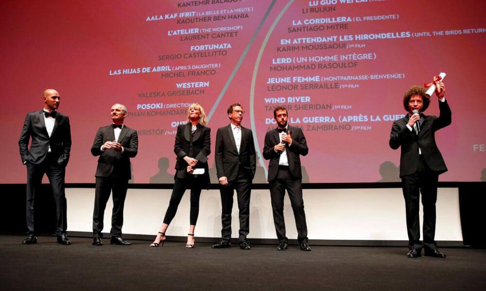 Discurso de premiación de Michel Franco en Cannes