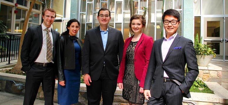 Ganadores de los Premios Presidente de la Universidad de Calgary