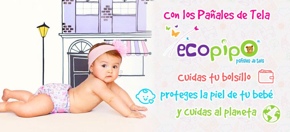 Beneficios de pañales ecológicos de Ecopipo