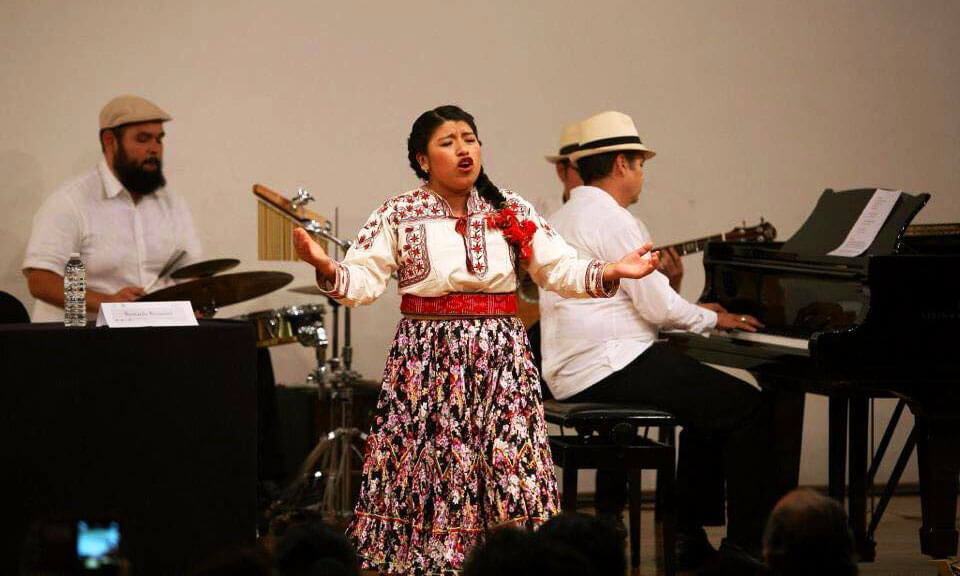 Concierto de María Reyna López González