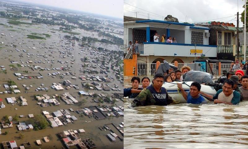 Inundación en Villahermosa 2007