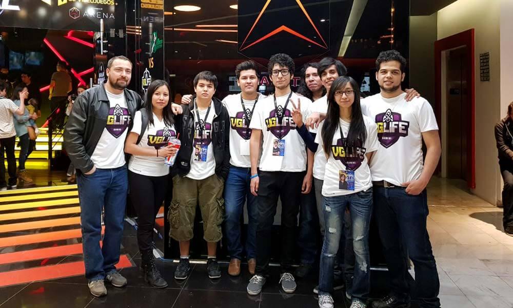 José Salomón y el equipo VGLife Gaming