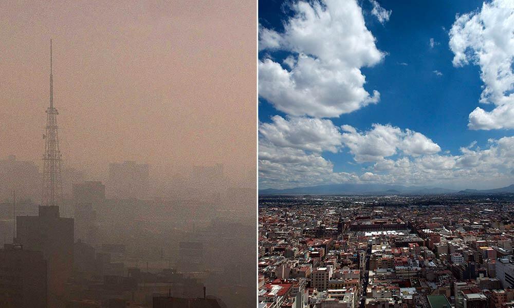 Contaminación en Ciudad de México