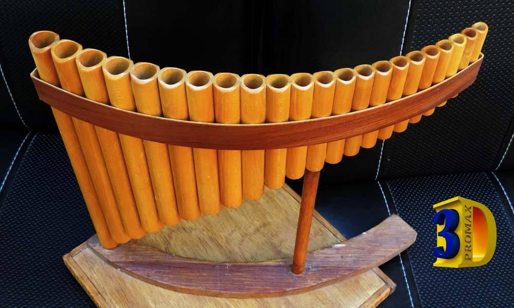 Flauta de Pan de Madera de Arce