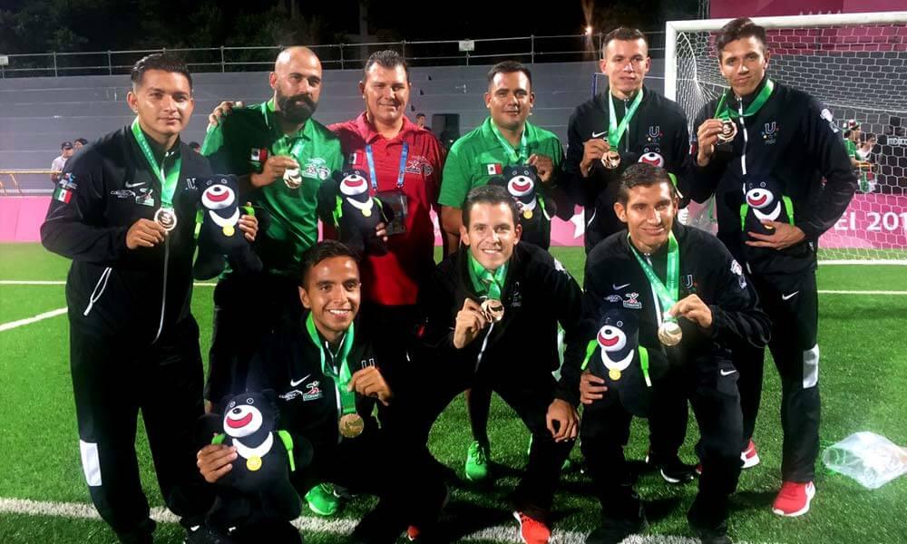 Equipo mexicano de fútbol logra medalla de bronce en Taipéi 2017