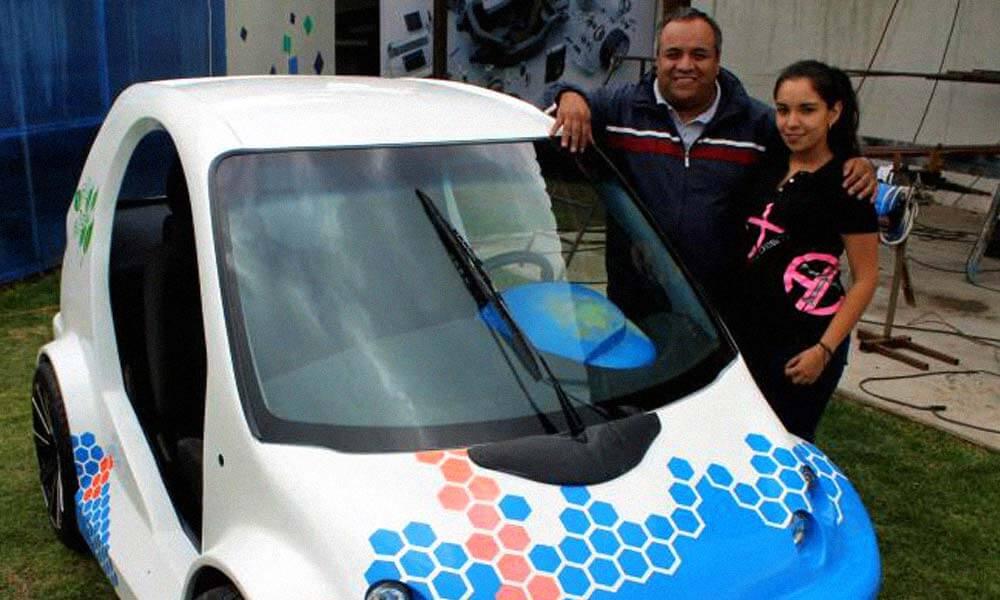 Carlos Pardo nombró su auto eléctrico en honor a su hija Andrea