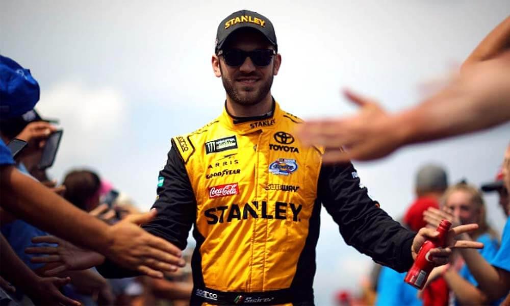 Daniel Suárez tercer lugar NASCAR