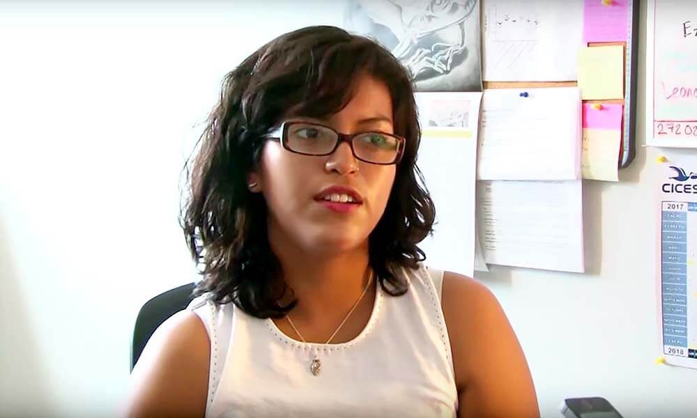 Estudiante Mexicana Adriana Miranda Cervantes