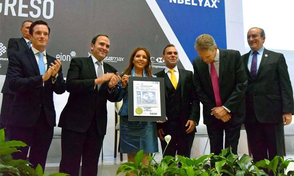IMPI otorga patente a Gabriela León por Nbelyax
