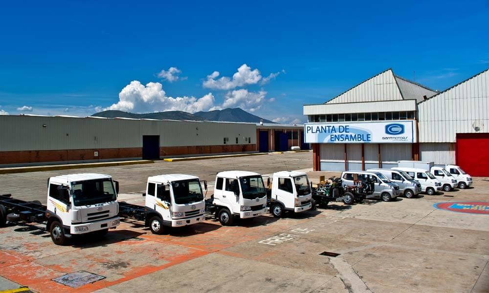 Planta de ensamble Giant Motors en Tepeapulco, Hidalgo