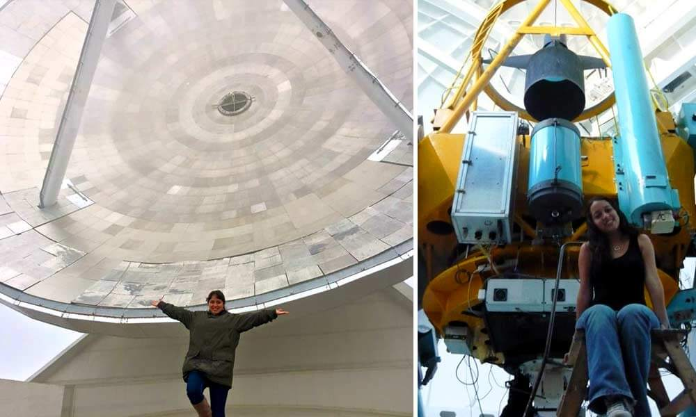Astrónoma mexicana Oriana Trejo Álvarez