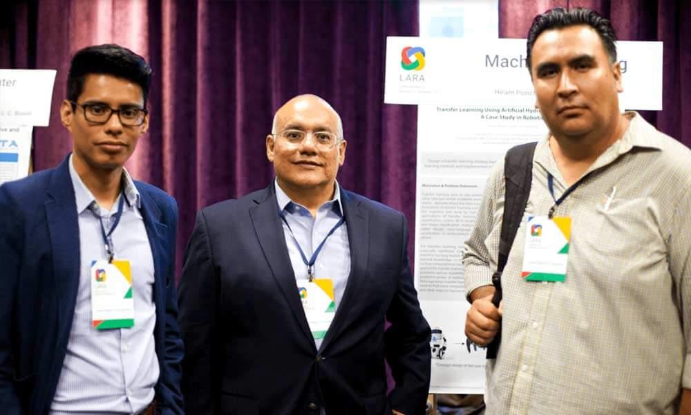 Hiram Eredín Ponce Espinosa, Emmanuel Vallejo Clemente y Luis Carlos González Gurrola fueron los mexicanos galardonados en los Latin American Research Awards 2017