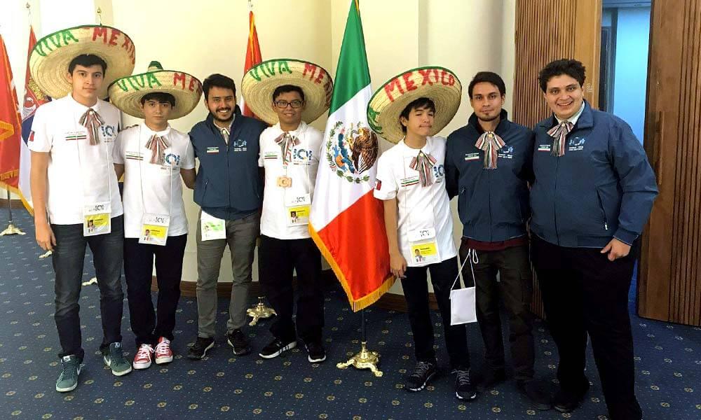 Delegación Mexicana en Olimpiada Internacional de Informática