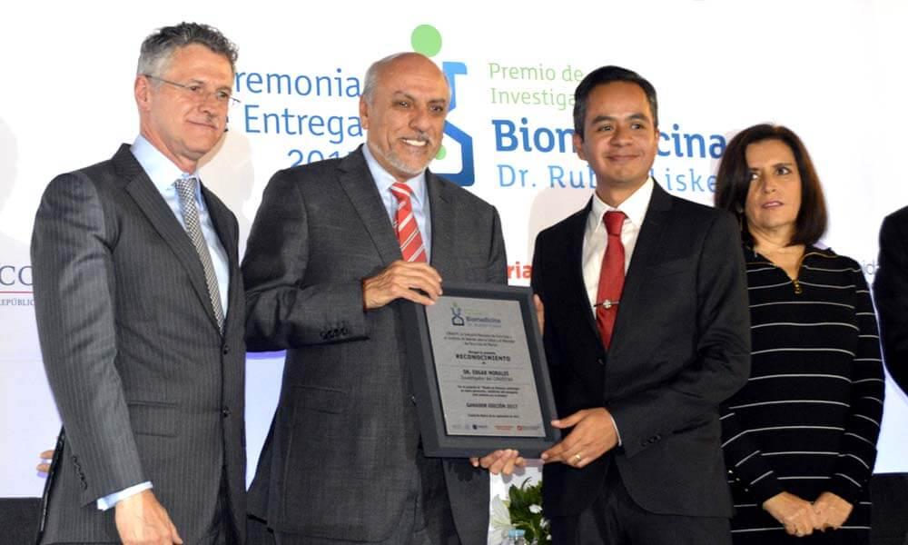 Entrega de premio de investigación en biomedicina Dr. Rubén Lisker 2017