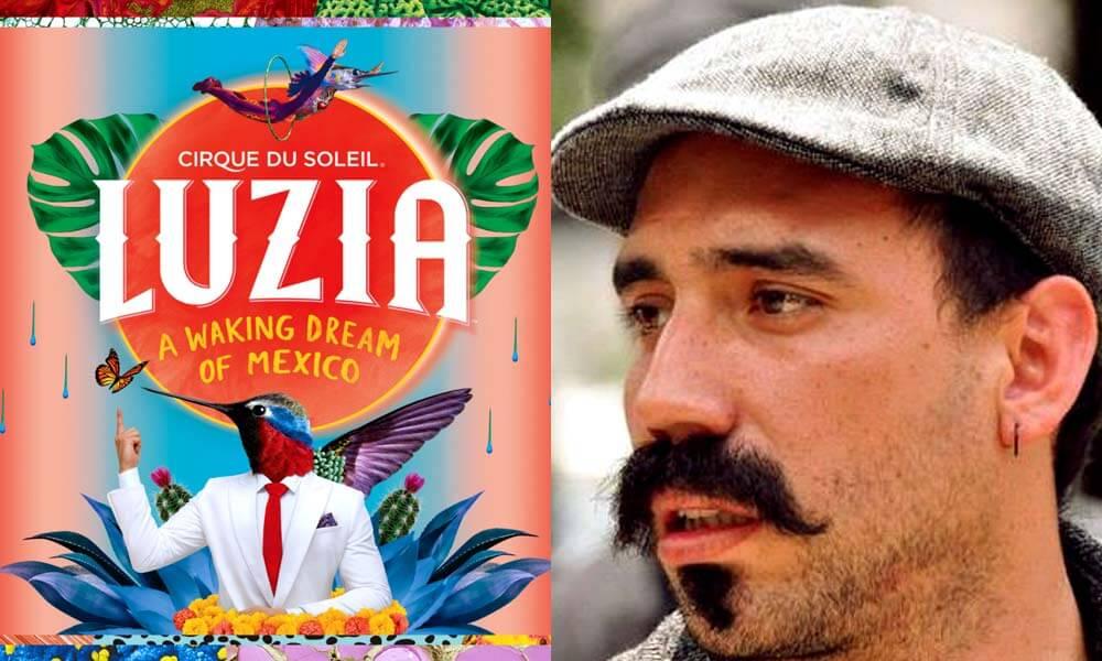 Jorge Contreras, Productor Creativo Audiovisual de Luzia, Cirque de Soleil