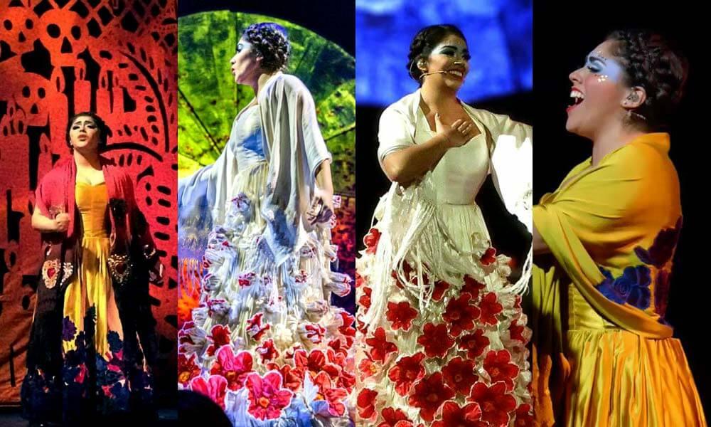 Majo Cornejo, cantante principal de Luzia, Cirque du Soleil
