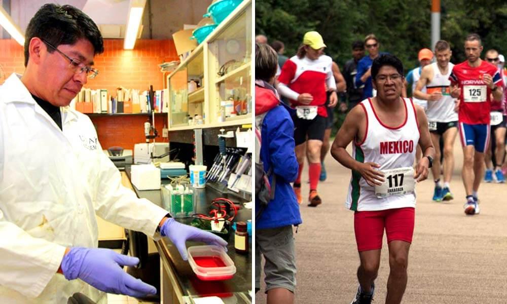 Marco Antonio Zaragoza Campillo, científico y ultramaratonista mexicano
