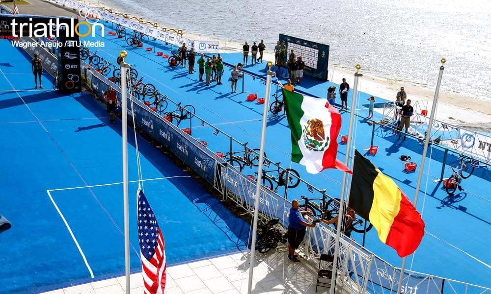 México es campeón mundial de triatlón en Sarasota, Florida