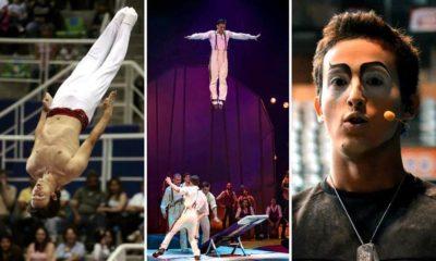 Roberto Carlos Reyes, 9 Años Estrella Mexicana en Cirque du Soleil