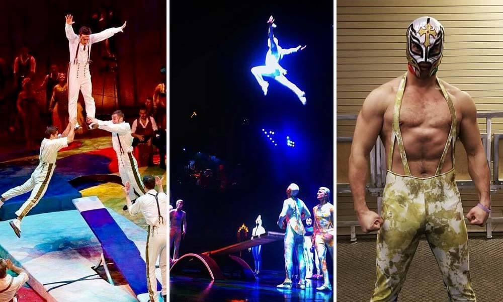 Roberto Carlos Reyes en Mystere, de Cirque du Soleil