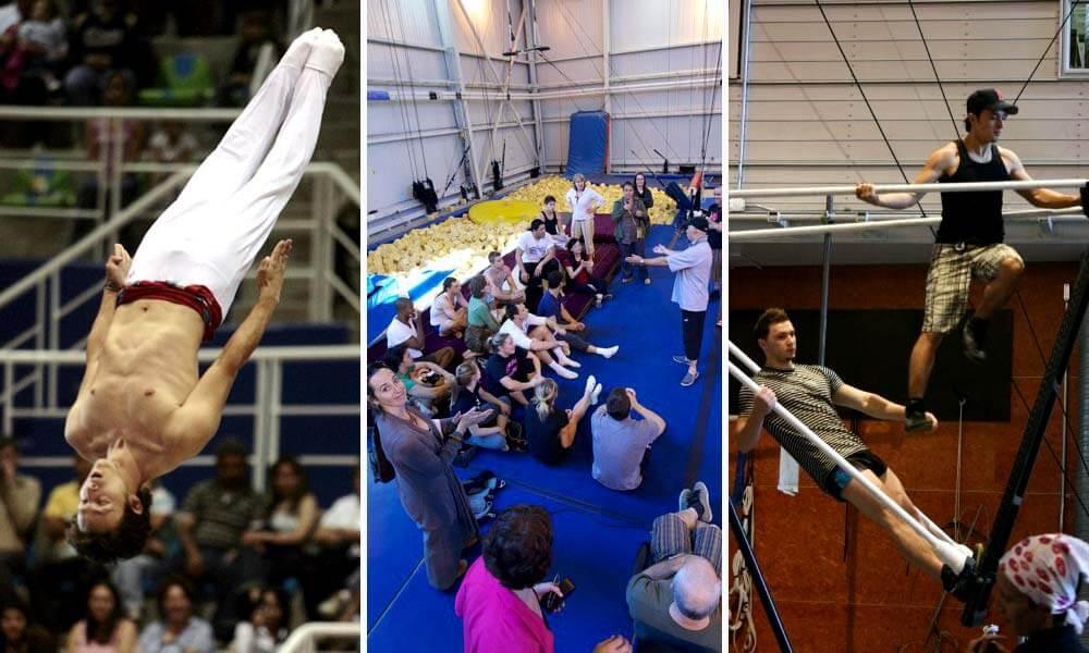 Selección y formación de Roberto Carlos Reyes en Cirque du Soleil