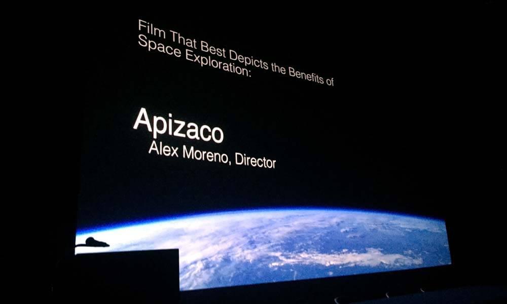 """Cortometraje mexicano """"Apizaco"""" ganador de la categoría """"Mejor filme difundiendo beneficios del espacio para la humanidad"""""""