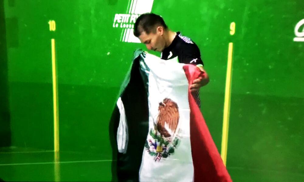 David Álvarez Murillo gana oro en Copa del Mundial de Frontón 2017