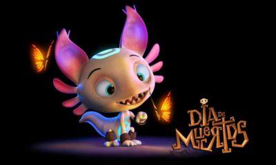 Axolote en Día de Muertos, película mexicana de Metacube