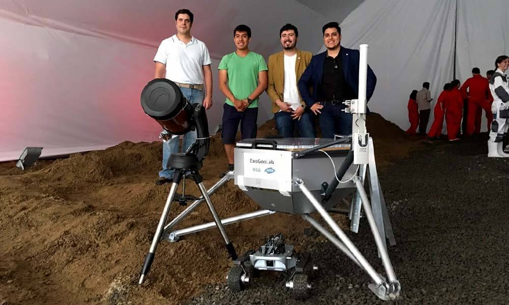 ExoGeoLander Rover, desarrollado en la UNAM