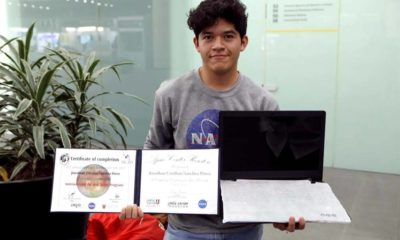 Pese a Burlas y Dificultades Económicas Mexicano Gana Premio en NASA, Jonathan Hernández