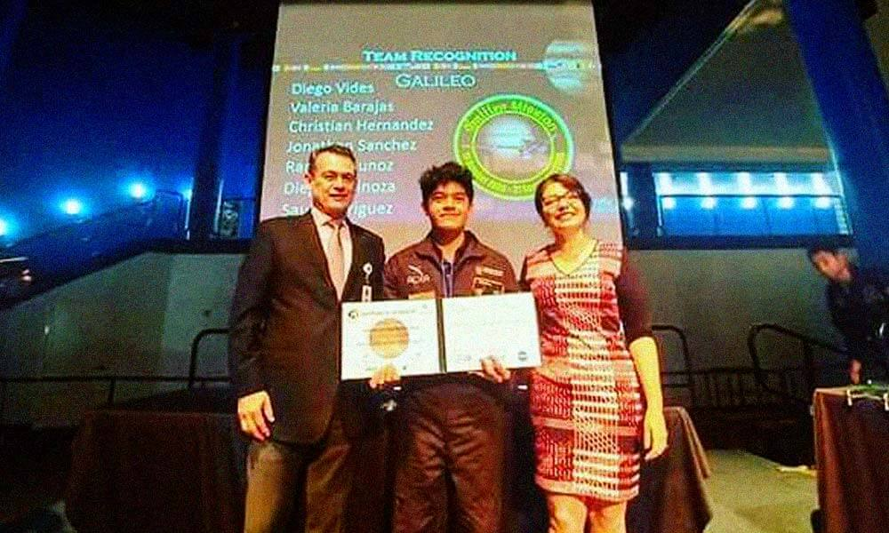 Jonathan Sánchez gana segundo lugar en Air and Space International Program