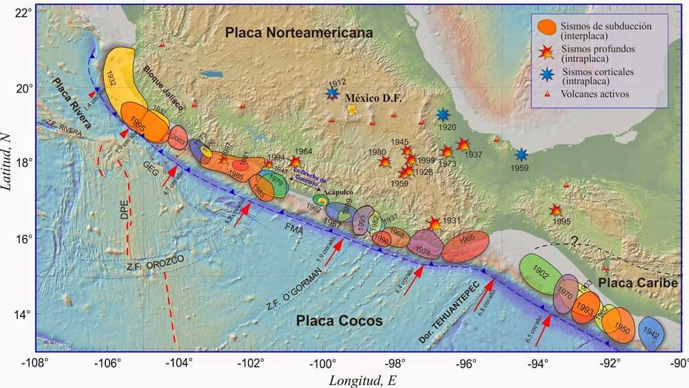 Brecha sísmica de Guerrero