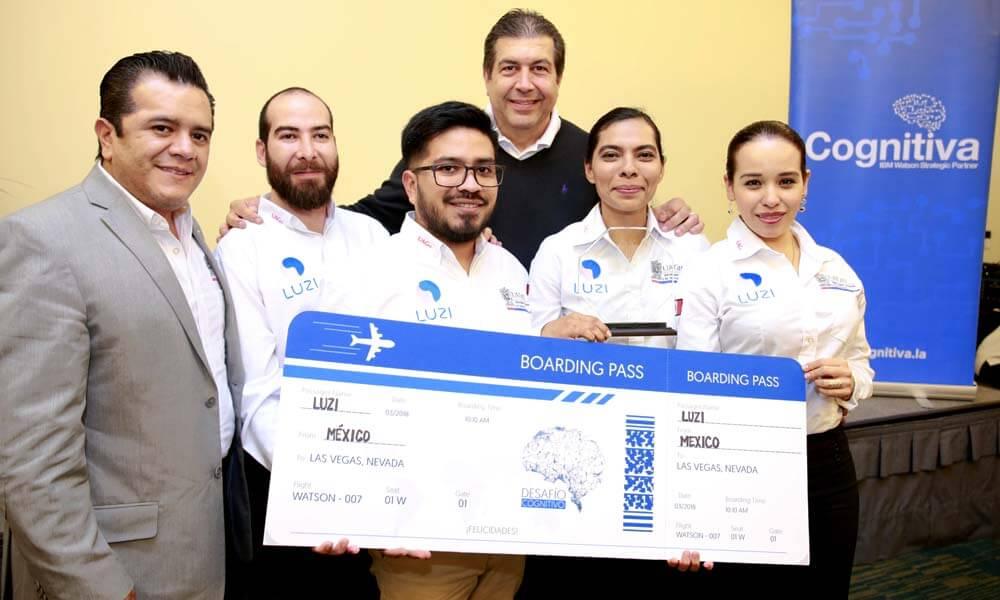LUZi, ganador del Desafío Cognitivo de Latinoamérica