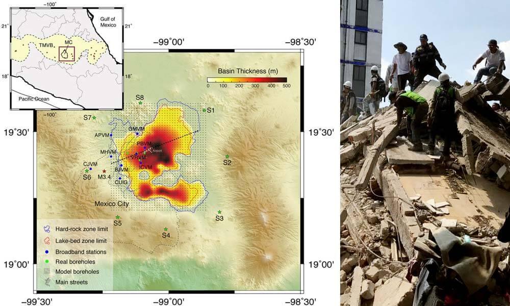 Tipos de suelo más afectados por el sismo en Ciudad de México