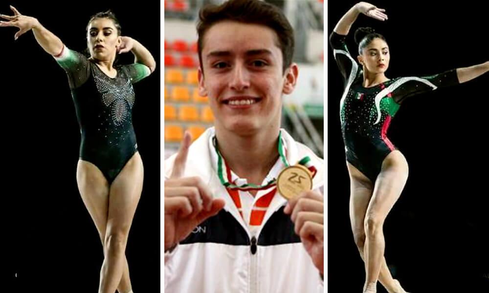 Atzihiri Sandoval, Victoria Mata y Kevin Cerda ganan medallas en mundial de gimnasia artística