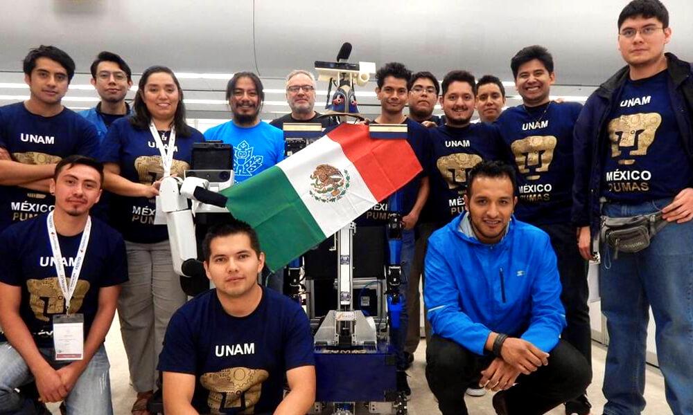 Equipo mexicano de la UNAM gana Robocup 2018