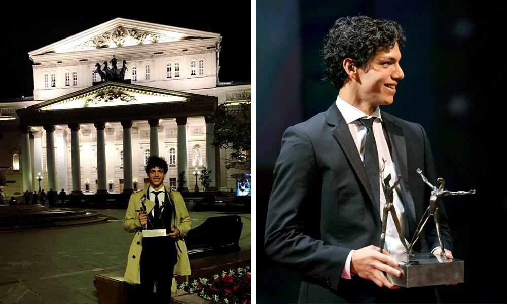 Isaac Hernández gana premio Benois de la Danza 2018