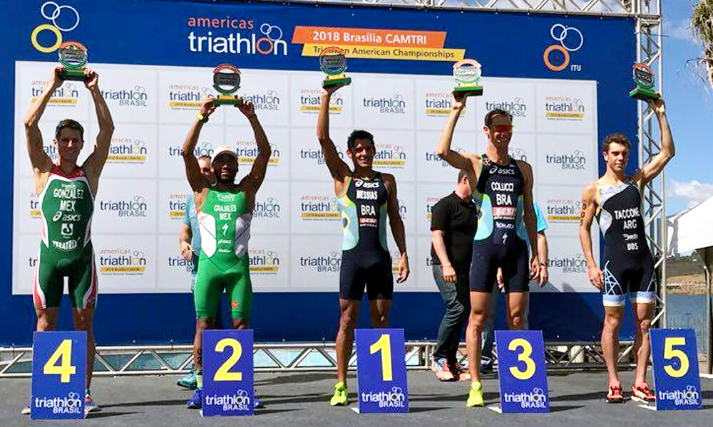 Medallas de México en Campeonato Panamericano de Triatlón