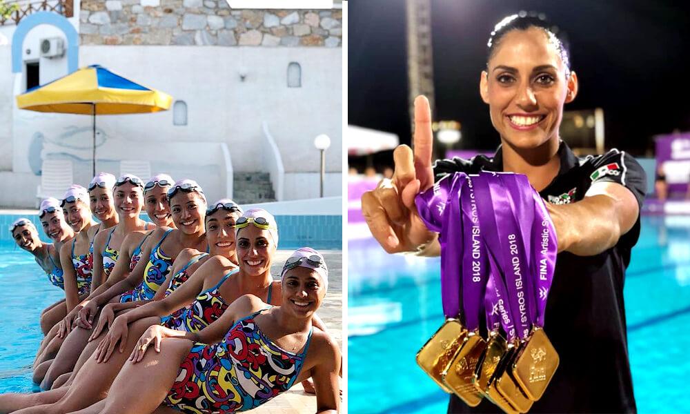 Selección mexicana femenil gana 7 medallas