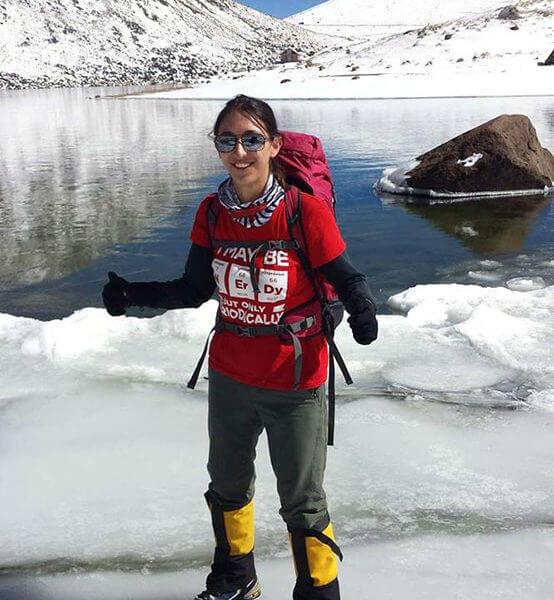 Alpinista Mexicana, Mariana Torres