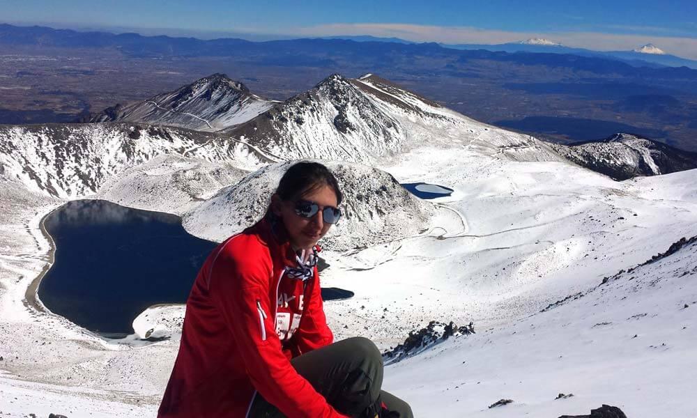 Alpinista Mexicana Mariana Torres