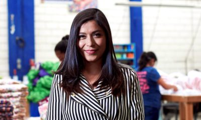 Ixchel Anaya, fundadora de Ecopipo, empresa de pañales ecológicos