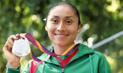 María Guadalupe González medalla de plata en mundial de atletismo